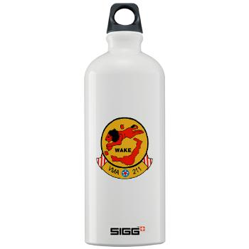 MAS211 - M01 - 03 - Marine Attack Squadron 211 Sigg Water Bottle 1.0L