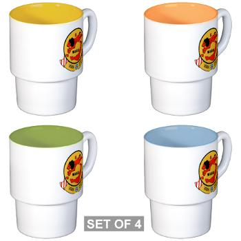 MAS211 - M01 - 03 - Marine Attack Squadron 211 Stackable Mug Set (4 mugs)