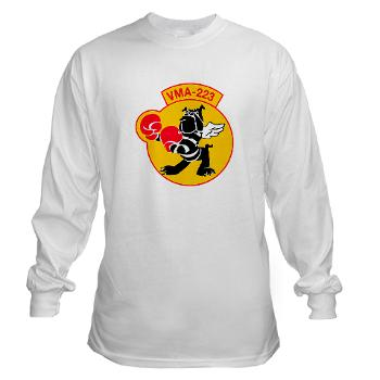 MAS223 - A01 - 03 - Marine Attack Squadron 223 (VMA-223) - Long Sleeve T-Shirt