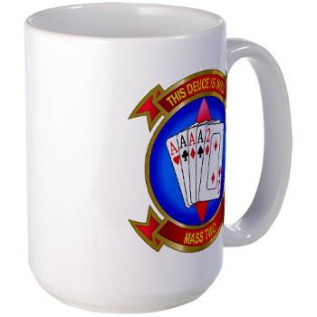MASS2 - M01 - 03 - Marine Air Support Squadron 2 Large Mug