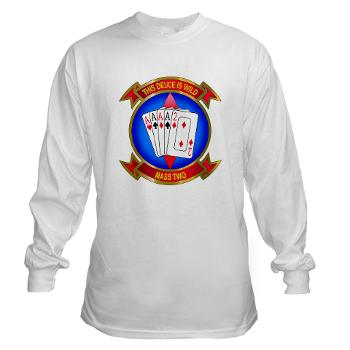 MASS2 - A01 - 03 - Marine Air Support Squadron 2 Long Sleeve T-Shirt