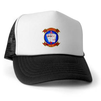 MASS2 - A01 - 02 - Marine Air Support Squadron 2 Trucker Hat