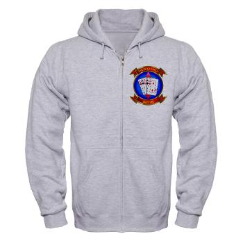 MASS2 - A01 - 03 - Marine Air Support Squadron 2 Zip Hoodie