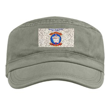 MASS2 - A01 - 01 - Marine Air Support Squadron 2 with Text Military Cap