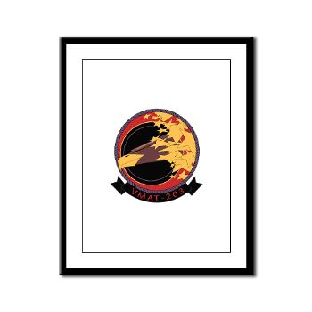 MATS203 - M01 - 02 - Marine Attack Training Squadron 203 (VMAT-203) - Framed Panel Print