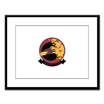 MATS203 - M01 - 02 - Marine Attack Training Squadron 203 (VMAT-203) - Large Framed Print