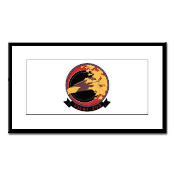 MATS203 - M01 - 02 - Marine Attack Training Squadron 203 (VMAT-203) - Small Framed Print
