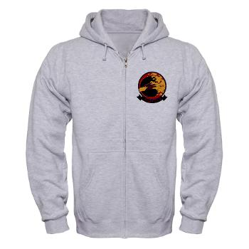 MATS203 - A01 - 03 - Marine Attack Training Squadron 203 (VMAT-203) - Zip Hoodie