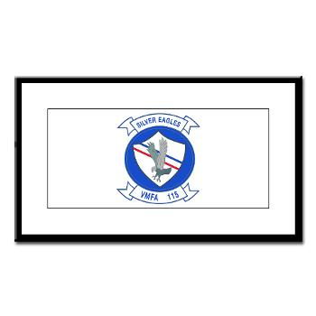MAWFAS115 - M01 - 02 - Marine Fighter Attack Squadron 115 (VMFA-115) - Small Framed Print