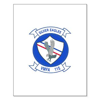 MAWFAS115 - M01 - 02 - Marine Fighter Attack Squadron 115 (VMFA-115) - Small Poster