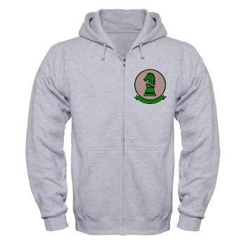 MAWFAS121 - A01 - 03 - Marine All Wx F/A Squadron 121 (FA/18D) Zip Hoodie