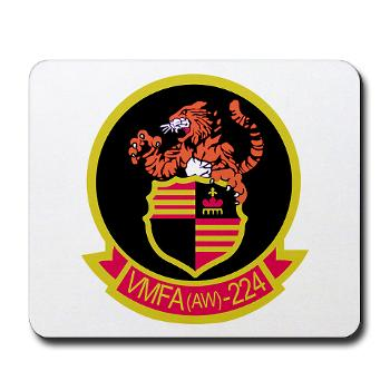 MAWFAS224 - M01 - 03 - Marine All Weather Fighter Attack Squadron 224 (VMFA(AW)-224) - Mousepad