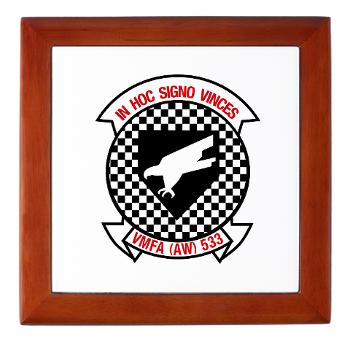 MAWFAS553 - M01 - 03 - Marine All Weather Fighter Attack Squadron 553 (VMFA(AW)-553) - Keepsake Box