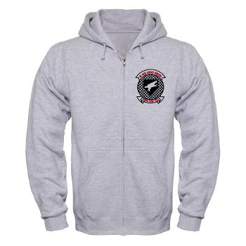 MAWFAS553 - A01 - 03 - Marine All Weather Fighter Attack Squadron 553 (VMFA(AW)-553) - Zip Hoodie