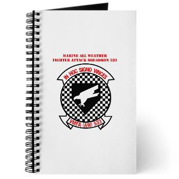 MAWFAS553 - M01 - 02 - Marine All Weather Fighter Attack Squadron 553 (VMFA(AW)-553) with Text - Journal