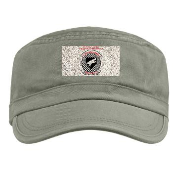 MAWFAS553 - A01 - 01 - Marine All Weather Fighter Attack Squadron 553 (VMFA(AW)-553) with Text - Military Cap