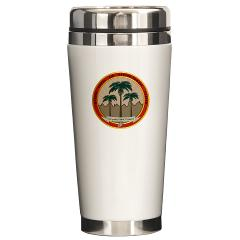 MCAGCCTP - M01 - 03 - Marine Corps Air Ground Combat Center Twentynine Palms - Ceramic Travel Mug