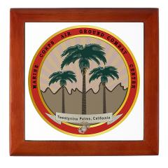 MCAGCCTP - M01 - 03 - Marine Corps Air Ground Combat Center Twentynine Palms - Keepsake Box