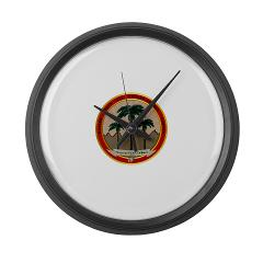 MCAGCCTP - M01 - 03 - Marine Corps Air Ground Combat Center Twentynine Palms - Large Wall Clock