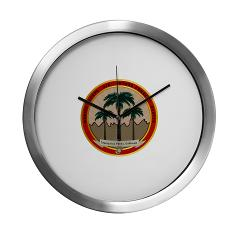 MCAGCCTP - M01 - 03 - Marine Corps Air Ground Combat Center Twentynine Palms - Modern Wall Clock