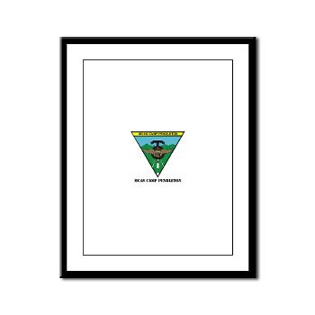 MCASCP - M01 - 02 - MCAS Camp Pendleton with Text - Framed Panel Print