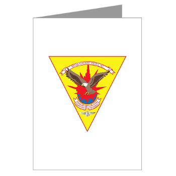 MCASCP - M01 - 02 - Marine Corps Air Station Cherry Point - Greeting Cards (Pk of 10)