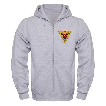 MCASCP - A01 - 03 - Marine Corps Air Station Cherry Point - Zip Hoodie