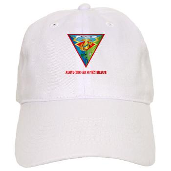 MCASM - A01 - 01 - Marine Corps Air Station Miramar with Text - Cap