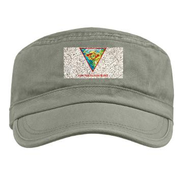 MCASM - A01 - 01 - Marine Corps Air Station Miramar with Text - Military Cap