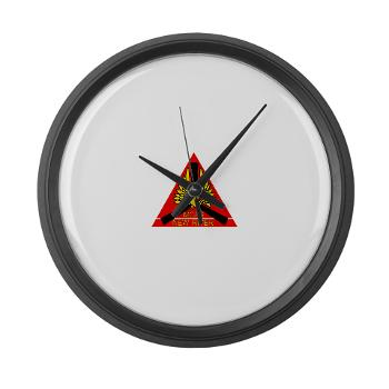MCASNR - M01 - 03 - Marine Corps Air Station New River - Large Wall Clock