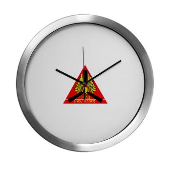 MCASNR - M01 - 03 - Marine Corps Air Station New River - Modern Wall Clock