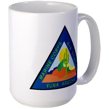 MCASY - M01 - 03 - Marine Corps Air Station Yuma - Large Mug