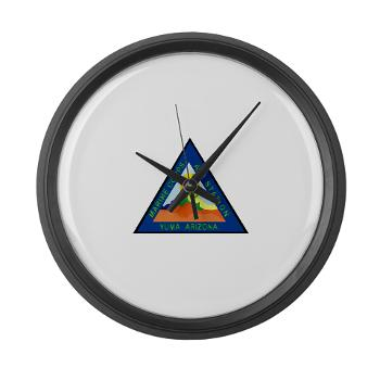 MCASY - M01 - 03 - Marine Corps Air Station Yuma - Large Wall Clock