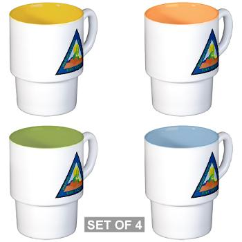 MCASY - M01 - 03 - Marine Corps Air Station Yuma - Stackable Mug Set (4 mugs)