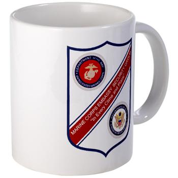 MCESG - M01 - 03 - Marine Corps Embassy Security Group - Large Mug