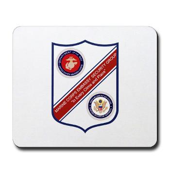 MCESG - M01 - 03 - Marine Corps Embassy Security Group - Mousepad