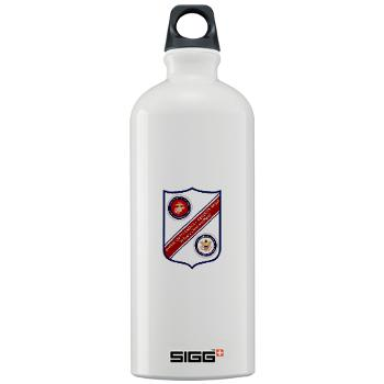 MCESG - M01 - 03 - Marine Corps Embassy Security Group - Sigg Water Bottle 1.0L