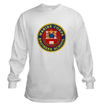MCES - A01 - 03 - Marine Corps Engineer School - Long Sleeve T-Shirt