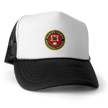 MCES - A01 - 02 - Marine Corps Engineer School - Trucker Hat