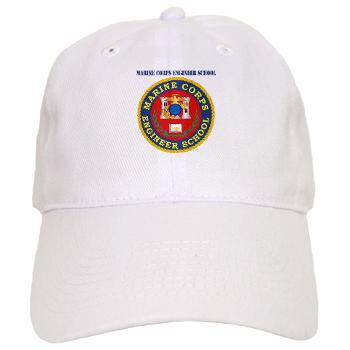 MCES - A01 - 01 - Marine Corps Engineer School with Text - Cap