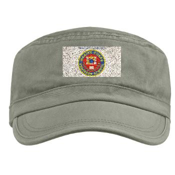 MCES - A01 - 01 - Marine Corps Engineer School with Text - Military Cap