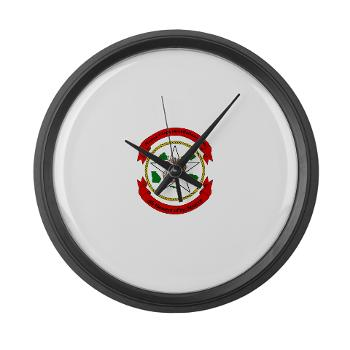 MCIE - M01 - 03 - Marine Corps Installations East - Large Wall Clock