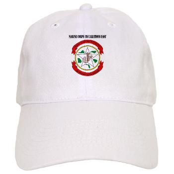 MCIE - A01 - 01 - Marine Corps Installations East with Text - Cap