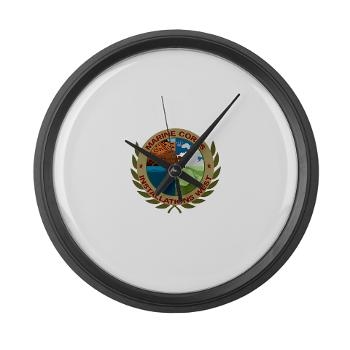 MCIW - M01 - 03 - Marine Corps Installations West - Large Wall Clock
