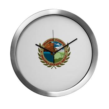 MCIW - M01 - 03 - Marine Corps Installations West - Modern Wall Clock