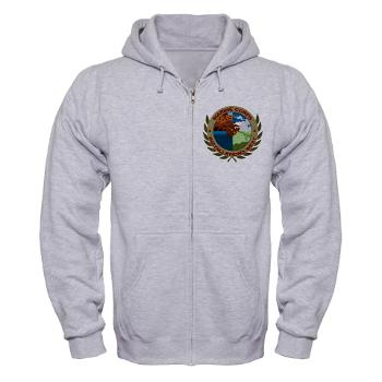 MCIW - A01 - 03 - Marine Corps Installations West - Zip Hoodie