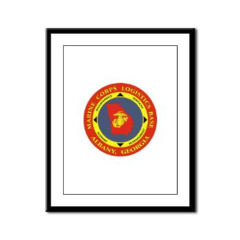 MCLBA - M01 - 02 - Marine Corps Logistics Base Albany - Framed Panel Print
