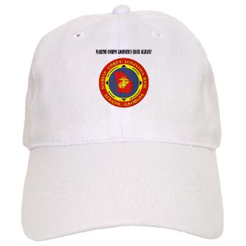 MCLBA - A01 - 01 - Marine Corps Logistics Base Albany with Text - Cap