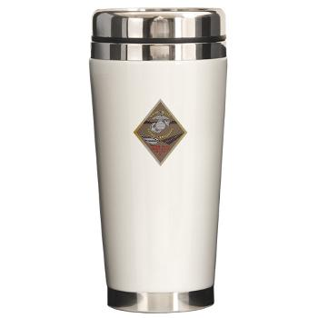 MCLBB - M01 - 03 - Marine Corps Logistics Base Barstow - Ceramic Travel Mug