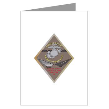 MCLBB - M01 - 02 - Marine Corps Logistics Base Barstow - Greeting Cards (Pk of 10)